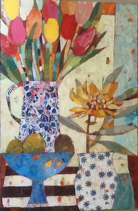 Sally Anne|Fitter : Tulips and Three Pears