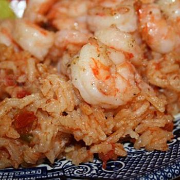 Southern Red Rice with Shrimp