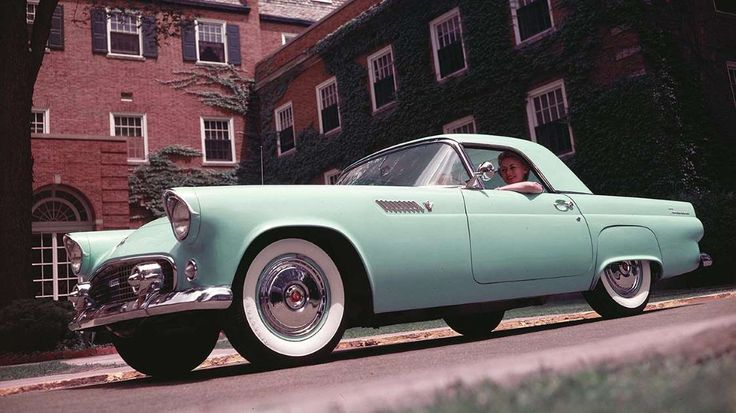 One of the most charismatic vehicles to ever emerge from Detroit, the Thunderbird was never intended... - Ford Motor Company