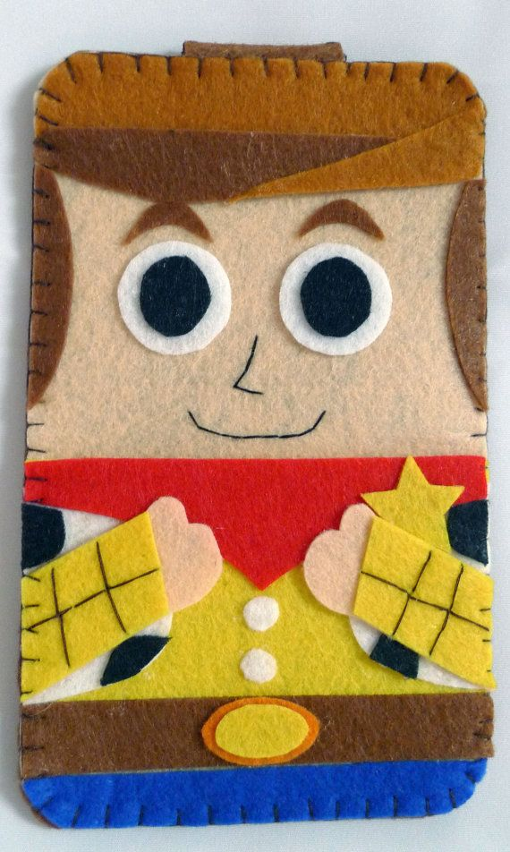 Toys Story collection Woody Handmade felt phone case by MyOwnDoll, $18.00