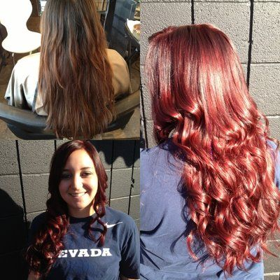 auburn hair color pictures | Before and after rich red auburn | Yelp