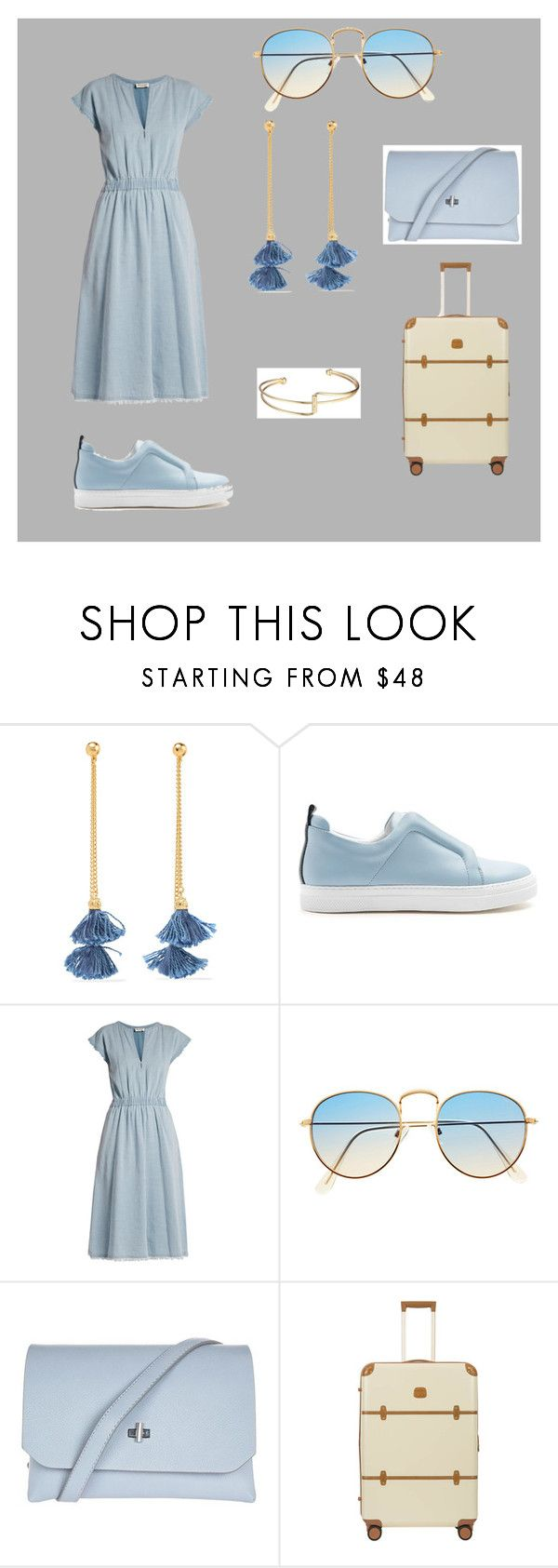 """""""Untitled #41"""" by misstad ❤ liked on Polyvore featuring Ben-Amun, Pierre Hardy, MASSCOB, Topshop and Bric's"""