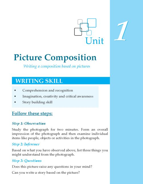 Tips for writing a picture compositions