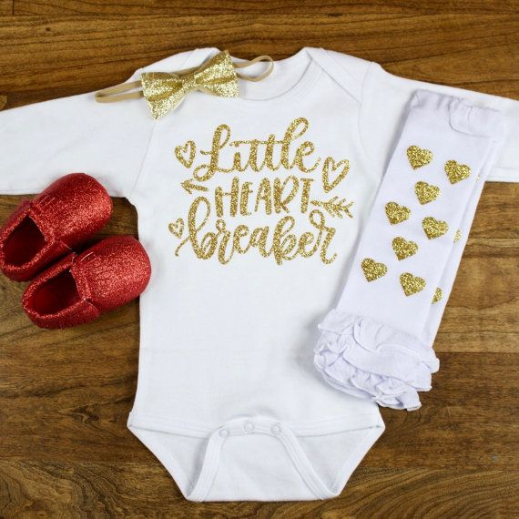 184 best Baby Valentine s Day Outfits images on Pinterest