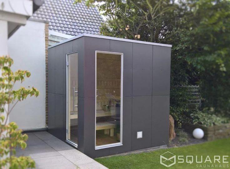 die besten 25 saunahaus garten ideen auf pinterest saunahaus pool schuppen und. Black Bedroom Furniture Sets. Home Design Ideas