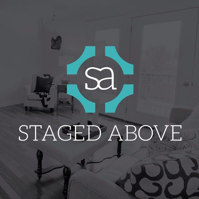 New Logo For Staged Above An Amazing Home And Commercial Interior Stager Based Out Of Maryland