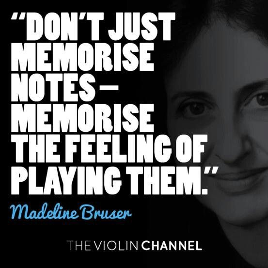"""Don't just memorize notes - memorize the feeling of playing them"" - Madeline Bruser #piano #music #quote"
