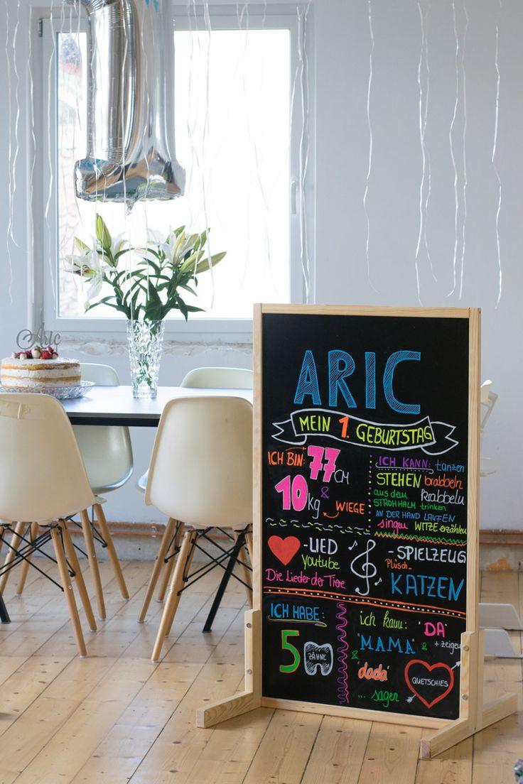 die besten 25 erster geburtstag kreidetafel ideen auf pinterest geburtstag kreidetafel. Black Bedroom Furniture Sets. Home Design Ideas