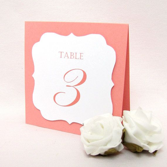 Table numbers wedding  Wedding table number  by DazzlingDaisiesCo