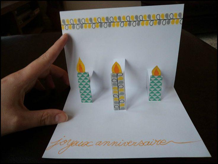 Pop-Up birthday  Cam&Drey bricolent...