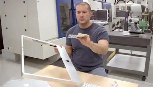 Unless you're at an Apple press conference, you'll rarely see Apple chief designer Jonathan Ive on camera. Video captured inside Apple's Cupertino home office is forbidden. So this video of Ive talking Apple designs inside the legendary Industrial Design Lab at Apple HQ is downright unheard of.