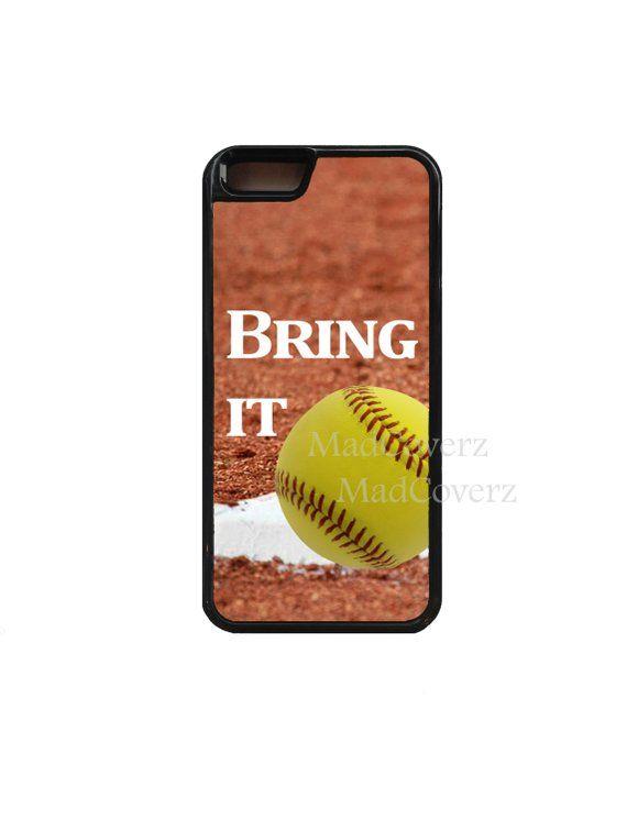 Softball phone case. Softball.iPhone X case.iPhone 8 Plus case.iPhone 8 case.iPh…