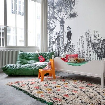 Such a Great Wall mural, not only for a Kids Room. Minakani Lab wallcoverings