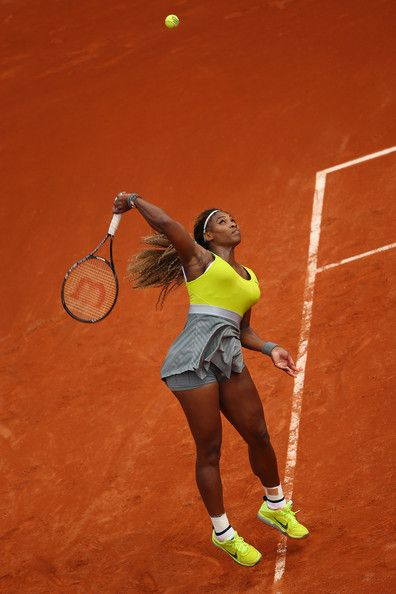 Serena Williams - 2014 French Open - Day 1