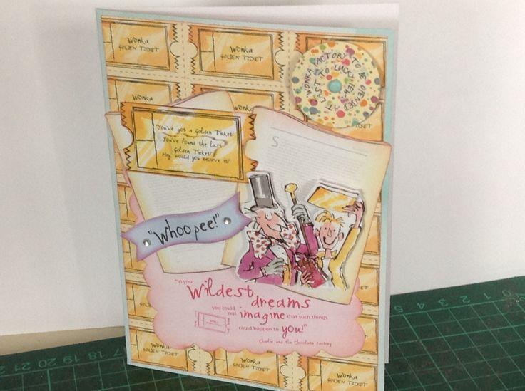Do Crafts Roald Dahl.Crafts Roald, Roald Dahl Cards, Roahl Dahl