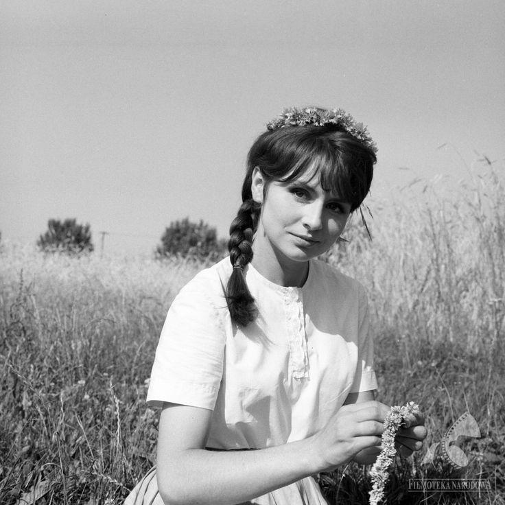 """Joanna Jędryka w obiektywie Jerzego Troszczyńskiego dla filmu """"Jak rozpętałem drugą wojnę światową"""", 1969."""