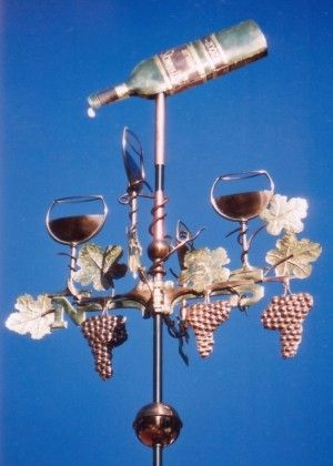 Wine-Weathervane-with-Bottle-Glasses-and-Grapes-P