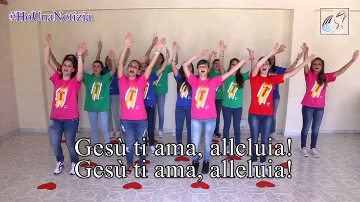 """""""Ho una notizia"""" - Flash mob XXXVIII Convocazione RnS con Papa Francesco"""