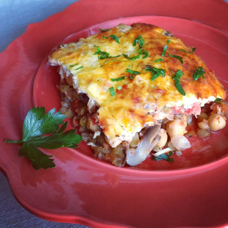 Vegetable Moussaka | Vegetarian Dishes | Pinterest