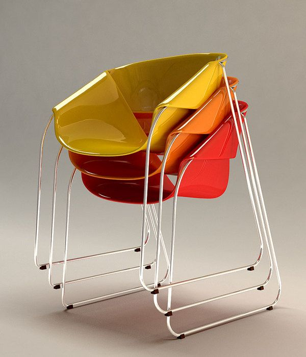 Stacking Chairs By Velichko Velikov
