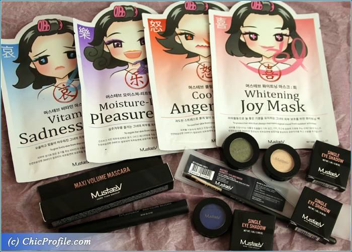 MustaeV Mood Therapy Face Masks, New Eyeshadows and Mascara Preview