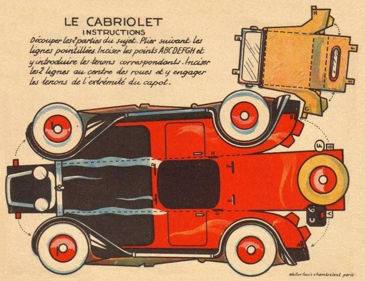Il favoloso mondo di carta di Totò: Le cabriolethttp://ilfavolosomondodicartaditoto.blogspot.com/2010/08/lhydro-glisseur.html