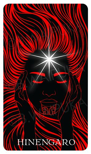 HINENGARO: Venus the morning star.  2015 current project - Maori Oracle Cards -- NIU, He Tangata Matauhi: Voices of the Ancestors.