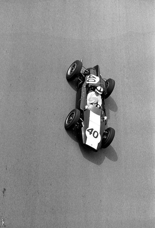 1961, Belgien GP, Spa-Francorchamps, Jackie Lewis, Cooper