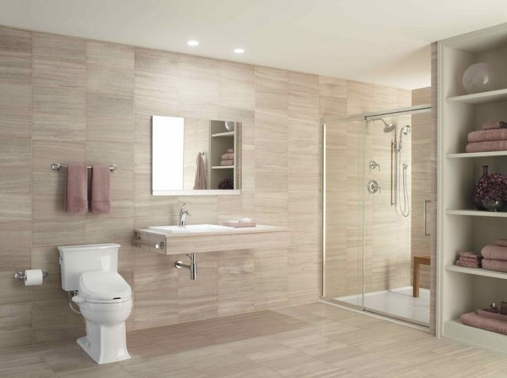 High Quality Shower Handicap Accessible Bathroom #BathroomDesigns Visit Us For Tips  About Designing Your Accessible Bathroom