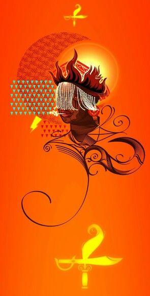Oyá - Wind of Change Digital Art, Illustration by Gui Soares