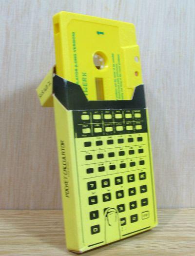 Kraftwerk Single Tape Pocket Calculator Casio FX-502P
