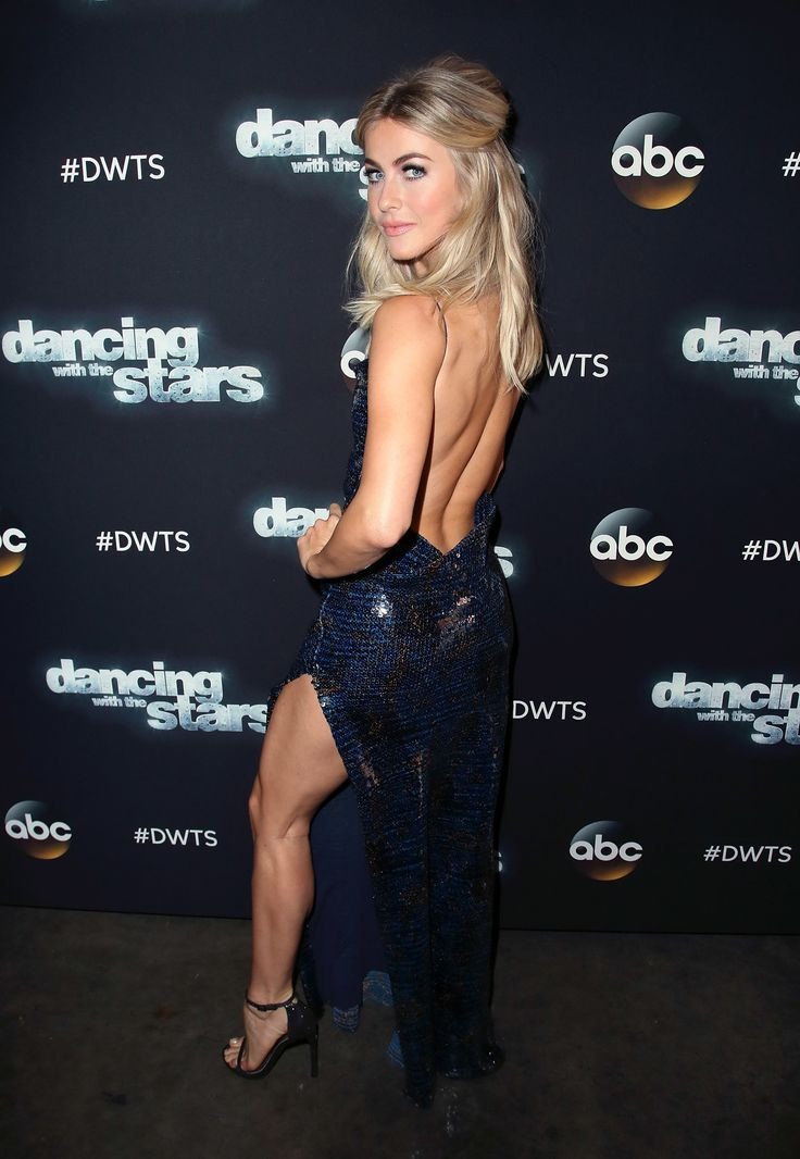 LOS ANGELES, CA - APRIL 10: Actress/competition judge Julianne Hough attends 'Dancing with the Stars' Season 24 at CBS Televison City on April 10, 2017 in Los Angeles, California. (Photo by David Livingston/Getty Images) via @AOL_Lifestyle Read more: https://www.aol.com/article/entertainment/2017/04/11/julianne-hough-dancing-with-the-stars-gown/22035339/?a_dgi=aolshare_pinterest#fullscreen