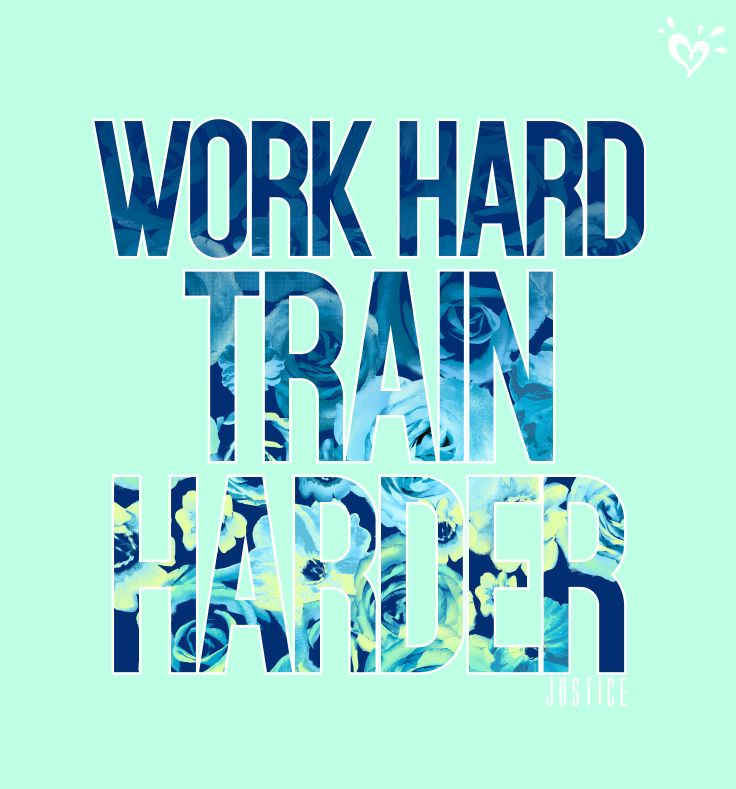 The harder you work, the more you achieve!