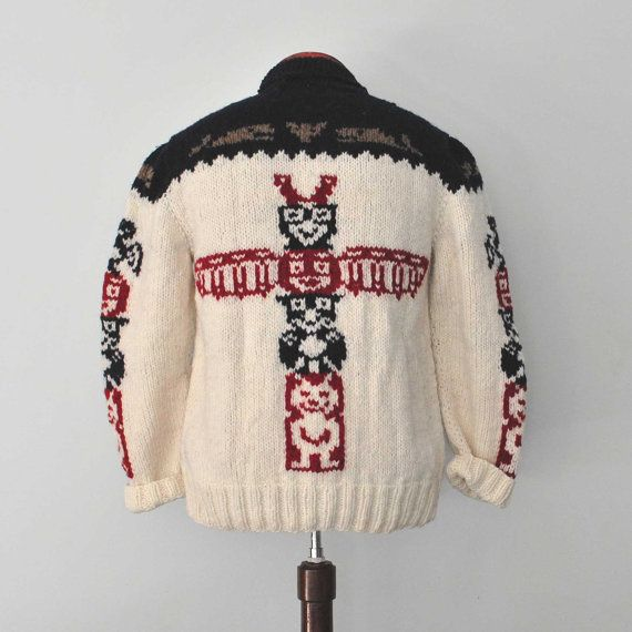 c861f2e26102 NEW  Mary Maxim Totem Sweater