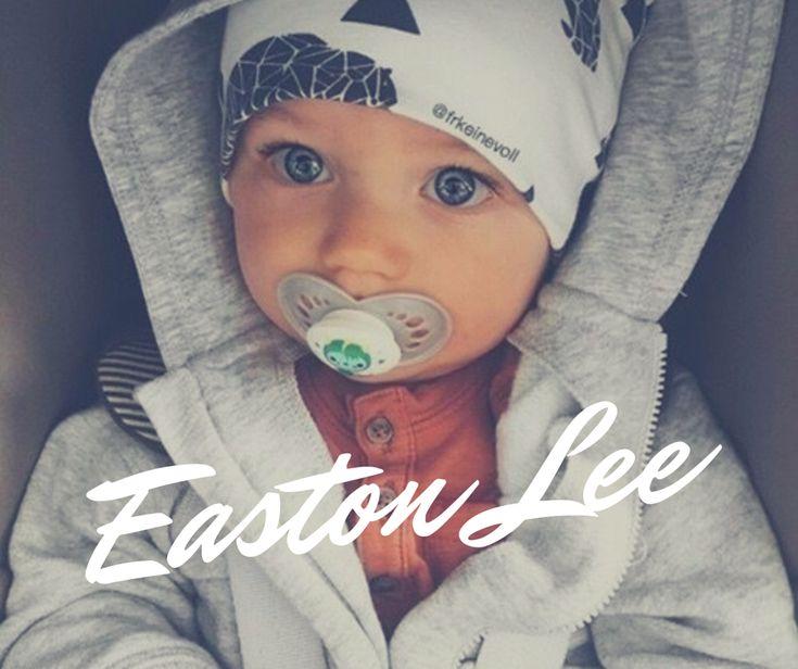 Baby boy name EASTON LEE #babyboyname #babynames #nameyourbaby