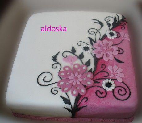 DORTY A SLADKOSTI aneb PEČEME S LÁSKOU - Fotoalbum - -MOJE PEČENÍ- - MOJE DORTY - My cakes - Dárek pro mou kamarádku Růženku