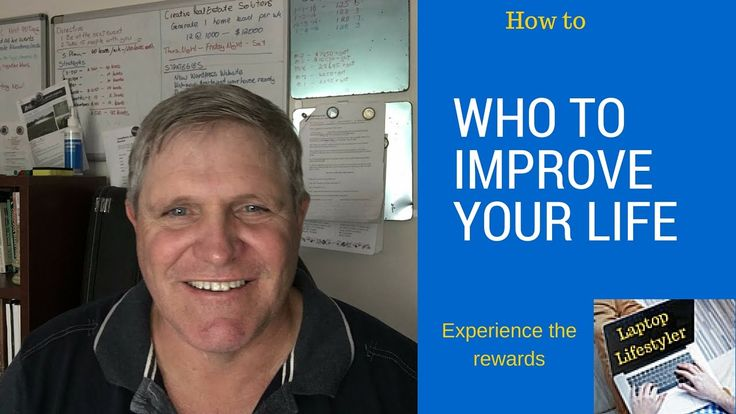 Peter Wheaton.. How to improve your life