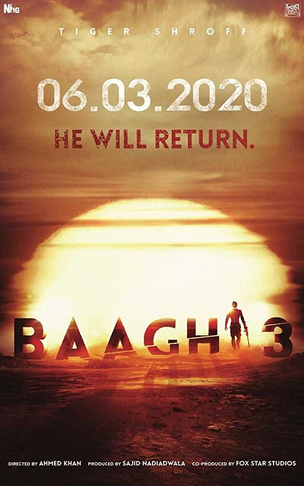 Baaghi 3 Is An Upcoming Hindi Bollywood Film Starring Tiger Shroff