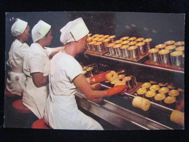 LIBBY'S PINEAPPLE CANNERY Hawaii Women Girls Postcard  Mouse over image to zoom       Zoom InZoom Out  Sell one like this    LIBBY'S PINEAPPLE CANNERY Hawaii Women Girls Postcard