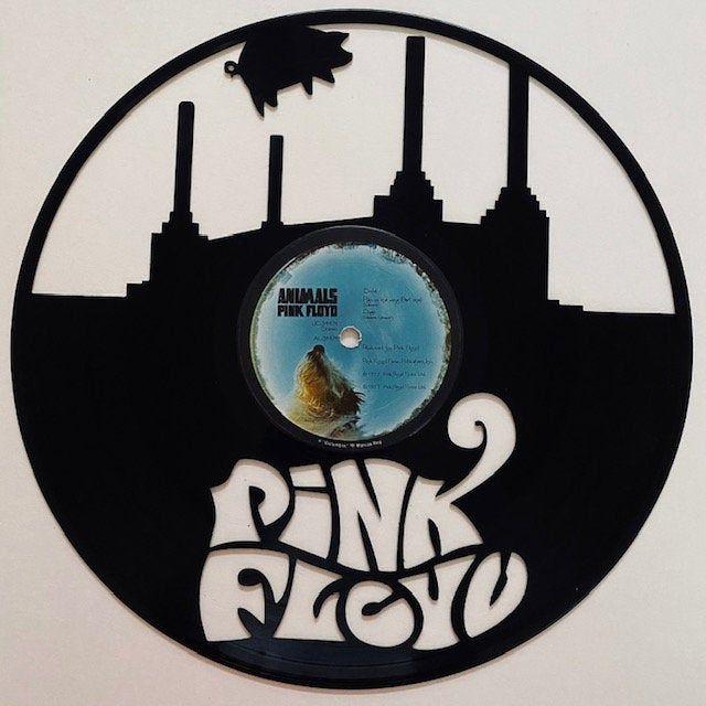 Pink Floyd Vinyl Record Art Etsy Vinyl Record Art Record Art Pink Floyd Vinyl