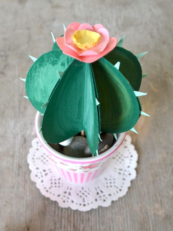 cactus di carta la figurina