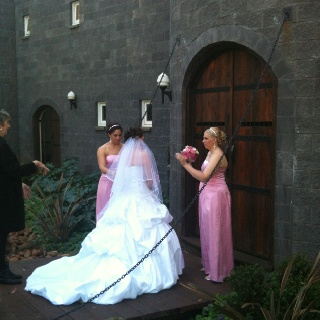 Another beautiful wedding at Lisson Grove & The Castle on Tamborine