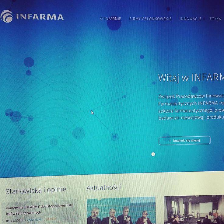Our brand new production www.infarma.pl  Graphics designed by Studio2x2. #website #modx #www #web #razdwaprojekt #infarma #strona #rwd