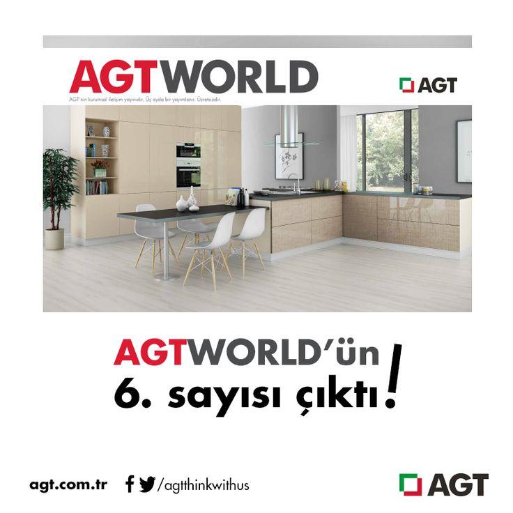 AGTWORLD'ün 6. sayısı, dopdolu içeriğiyle sizleri bekliyor!   Dergimizi online olarak web sayfamızdan okuyabilirsiniz.