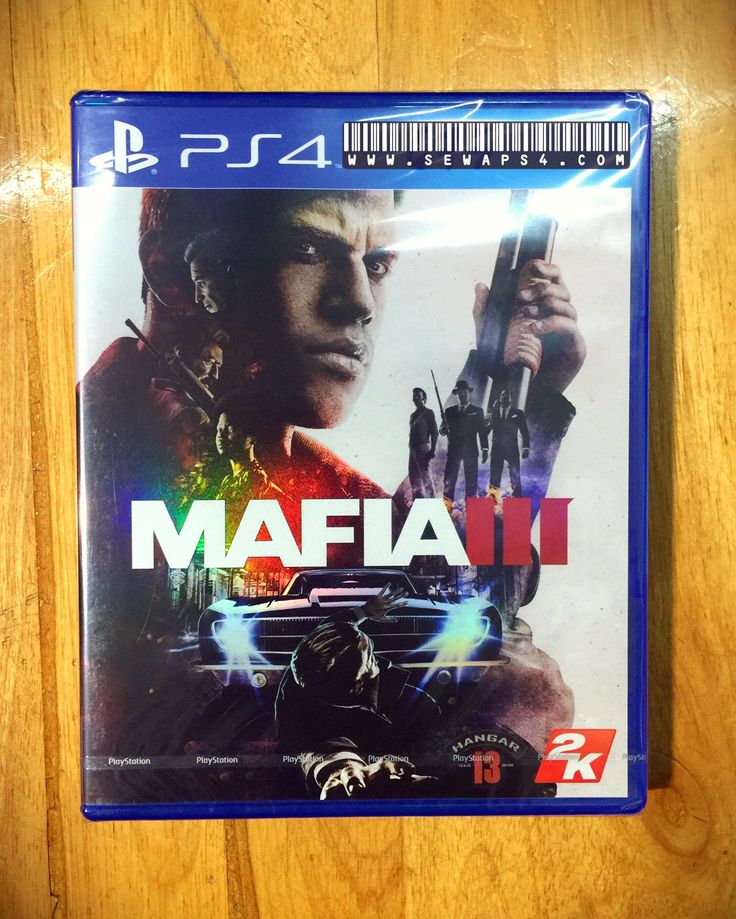 Sewaps4.com & Mafia 3 is ready 😊 Sewa ps4 harian 081906060620