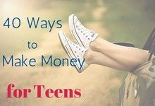 Home money making for teens