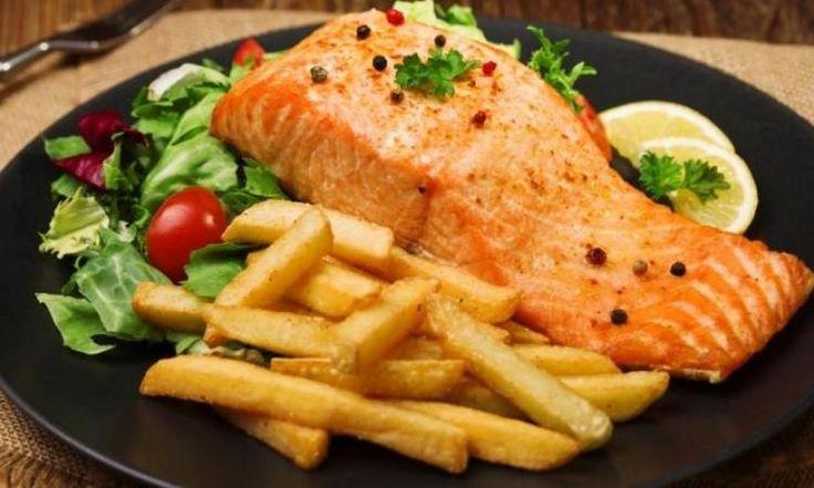 Filet de saumon...sirop d'érable et moutarde de Dijon