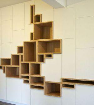 Modern Wall Cabinet by Filip Janssens