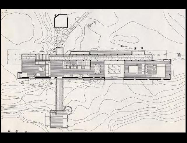 Sverre Fehn - Villa Busk, Norway, 1990  Floor plan