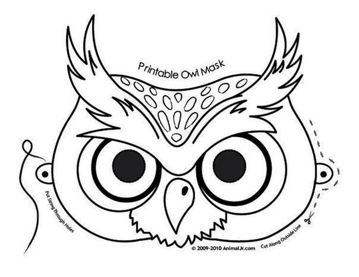 Коллекция трафаретов совушек 6  owl coloring pages owl